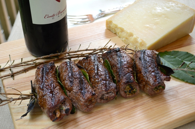 Spiedini: Grilled, Stuffed Meat Rolls | A Sicilian Peasant's Table